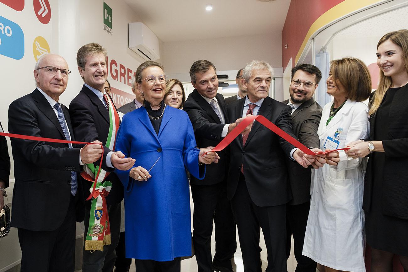 Inaugurato il nuovo Pronto Soccorso Pediatrico dell'ospedale Regina Margherita di Torino